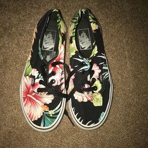 Hawaiian Flower Vans